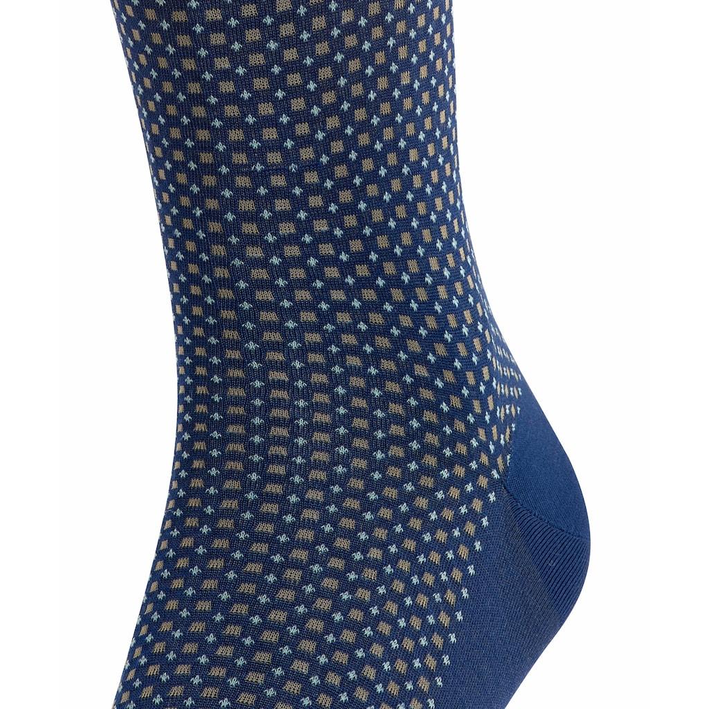 FALKE Kniestrümpfe »Uptown Tie«, (1 Paar), mit hoher Farbbrillianz