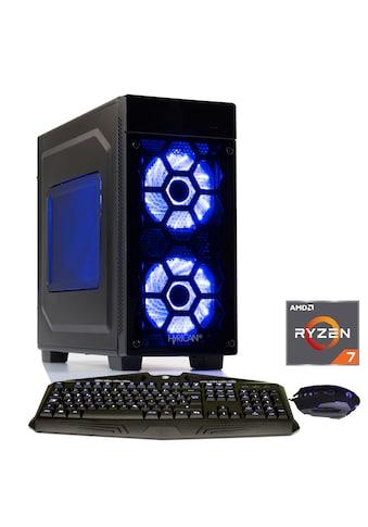 Hyrican Gaming PC Ryzen™ 7 2700, 16GB, SSD + HDD, AMD RX 580 »Striker 6159« kaufen