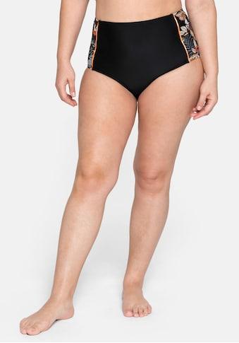 sheego by Joe Browns Bikini-Hose, in High-Waist-Form mit seitlichem Druck kaufen