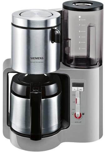 SIEMENS Filterkaffeemaschine »Sensor for Senses TC86505«, Papierfilter, 1x4,... kaufen