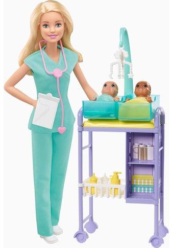 Mattel® Anziehpuppe »Barbie Kinderärztin, blond« kaufen