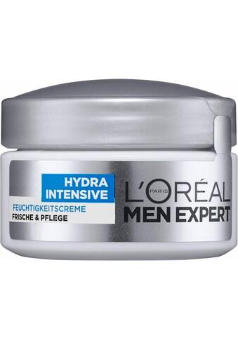L'ORÉAL PARIS MEN EXPERT Feuchtigkeitscreme »Hydra Intensive«, für sensible Männerhaut; zieht schnell, ohne fetten ein kaufen