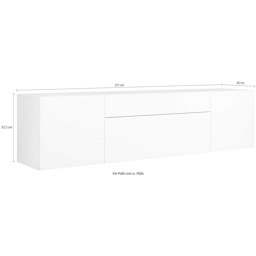 now! by hülsta Sideboard »now! for you«, für Wandmontage