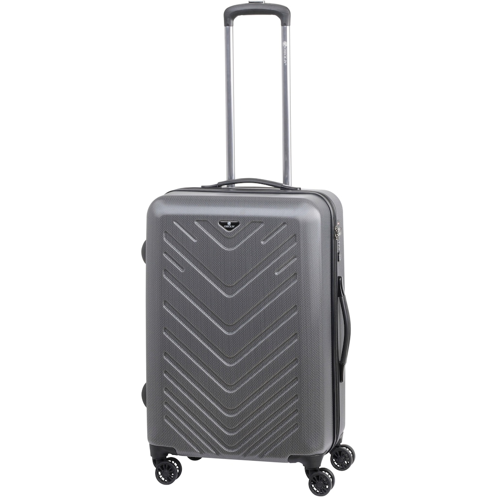 CHECK.IN® Trolleyset »Mailand«, (Set, 3 tlg.)