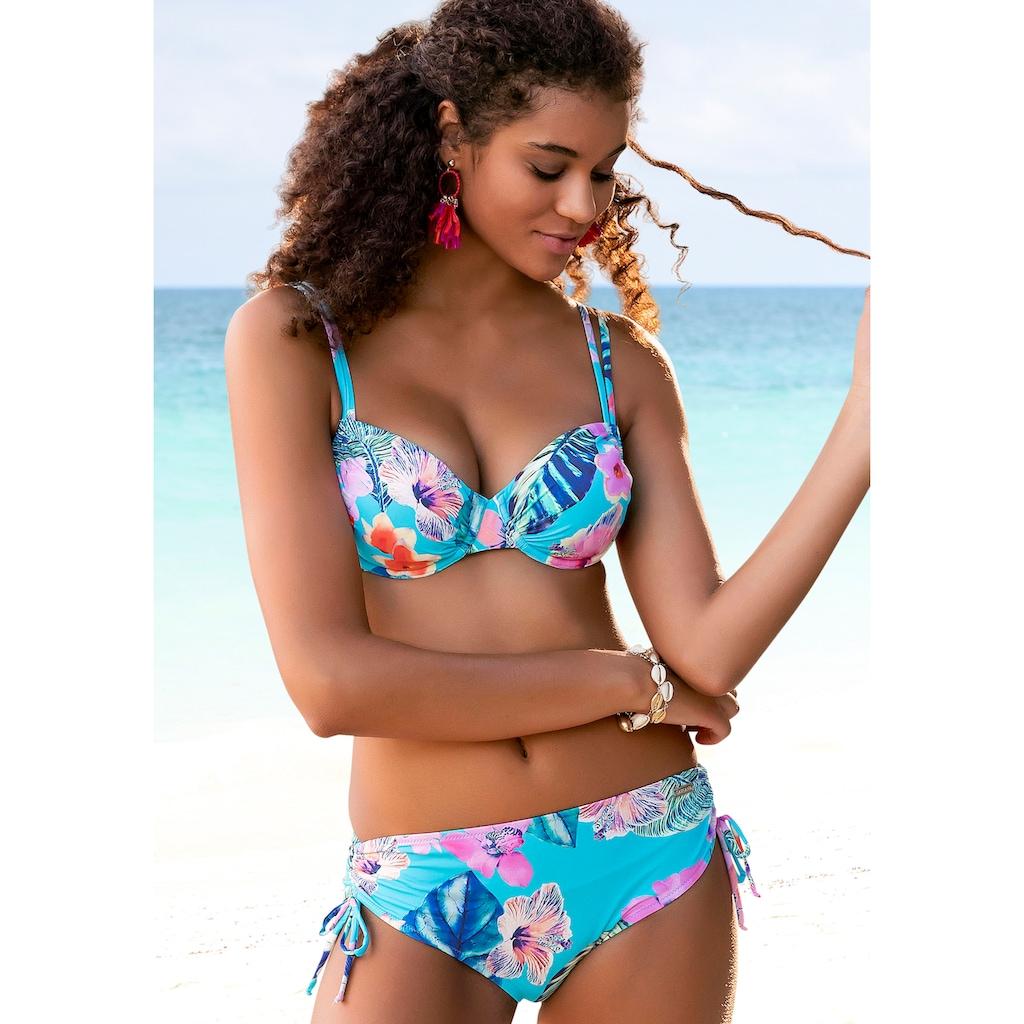 LASCANA Bügel-Bikini, sommerlich bedruckt