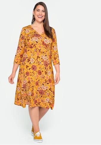sheego by Joe Browns Jerseykleid, in Wickeloptik kaufen