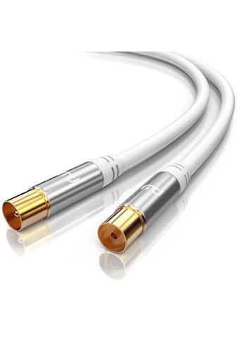 Primewire HDTV Antennenkabel mit 4 - fach Schirmung »IEC - Stecker zu RF - Buchse / 75 Ohm / 135dB« kaufen