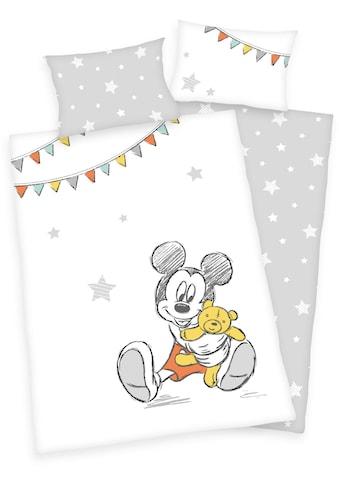 Walt Disney Babybettwäsche »Disney´s Mickey Mouse«, mit Mickey und Sternen kaufen