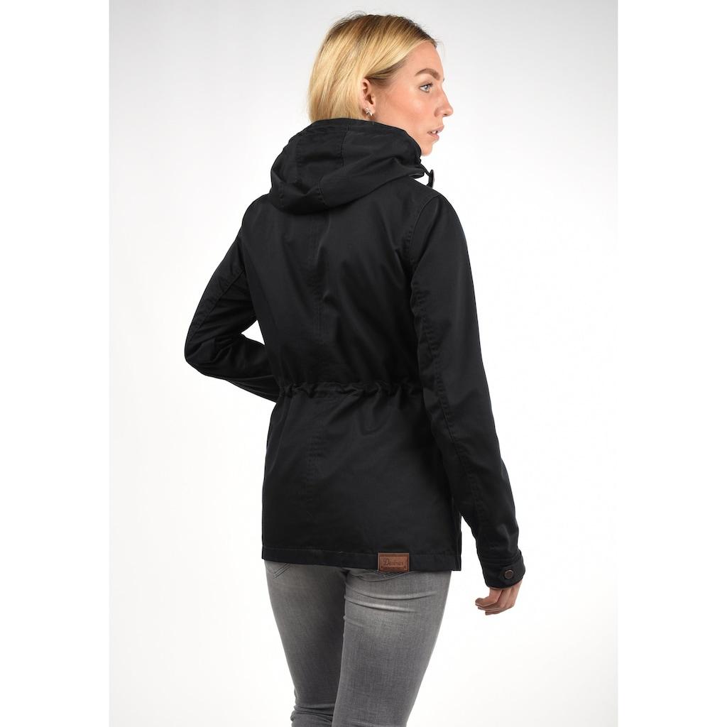 DESIRES Langjacke »Anja«, Übergangsjacke mit hochabschließendem Kragen