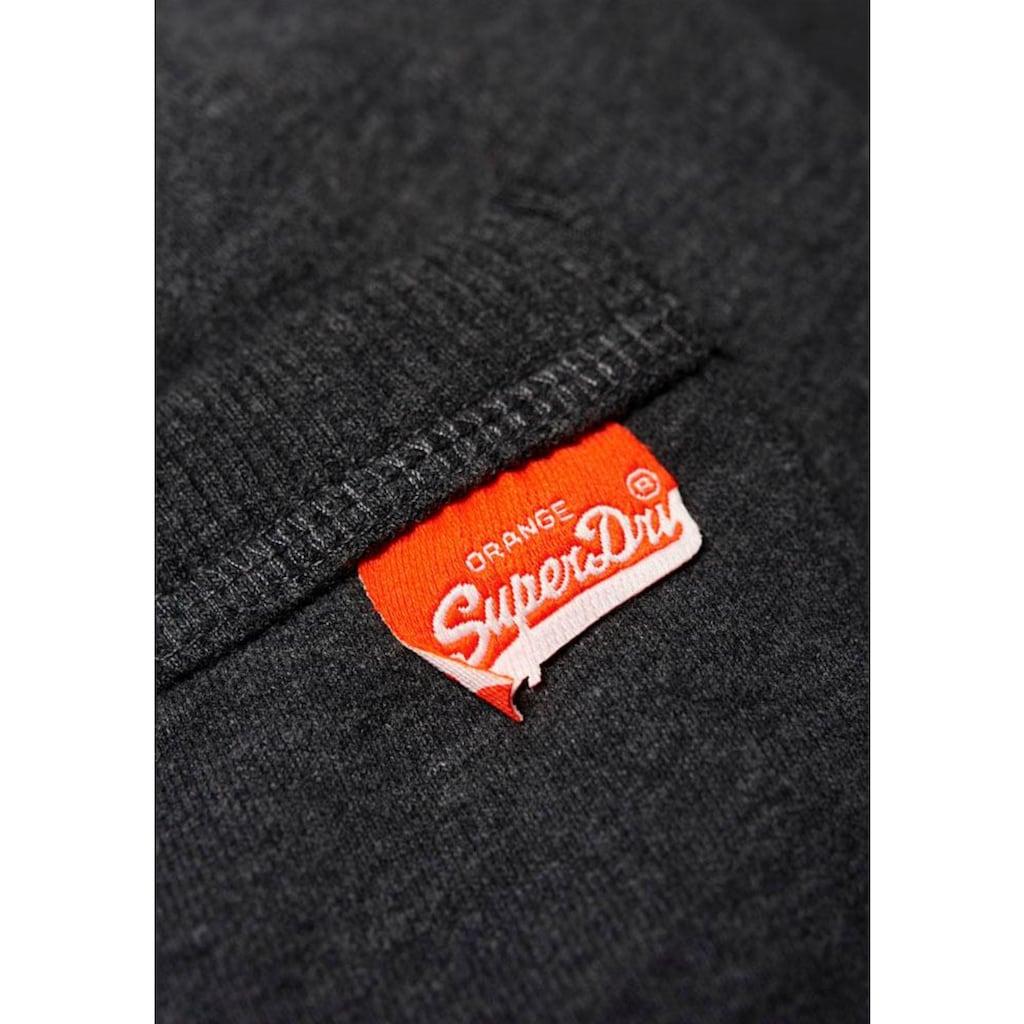 Superdry Jogger Pants »ORANGE LABEL JOGGER«, mit kleiner Logo-Stickerei