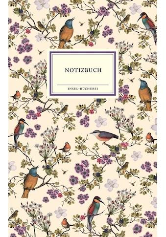 Buch »Notizbuch / Insel Verlag« kaufen