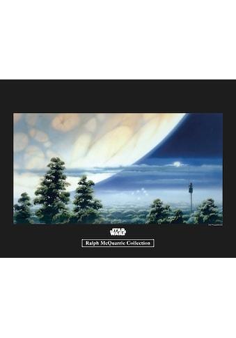 Komar Poster »Star Wars Classic RMQ Yavin Lookout«, Star Wars kaufen