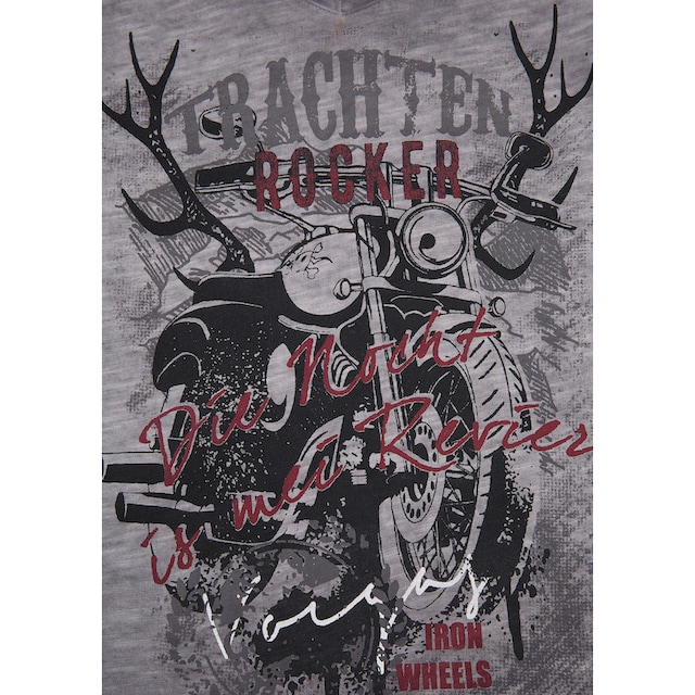 Andreas Gabalier Kollektion Trachtenshirt Kinder mit rockigem Printmotiv