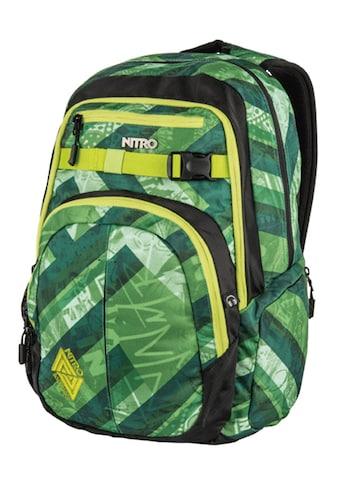 NITRO Schulrucksack »Chase, Wicked Green« kaufen