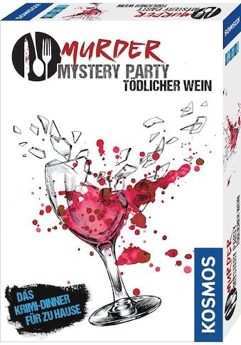 Kosmos Spiel »Murder Mystery Party - Tödlicher Wein« kaufen