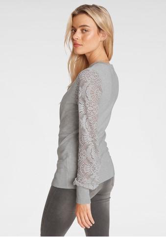 Melrose Strickjacke, mit Ärmeln aus Spitze kaufen