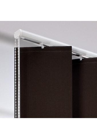Liedeco Lamellenschiene, für XXL-Lamellen, mit 25 cm Breite kaufen