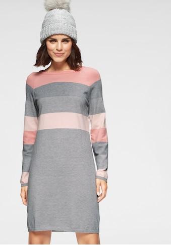 Tamaris Strickkleid, mit Blockstreifen kaufen