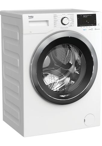 BEKO Waschmaschine »WMY91466AQ1«, WMY91466AQ1, mit Nachlegefunktion kaufen