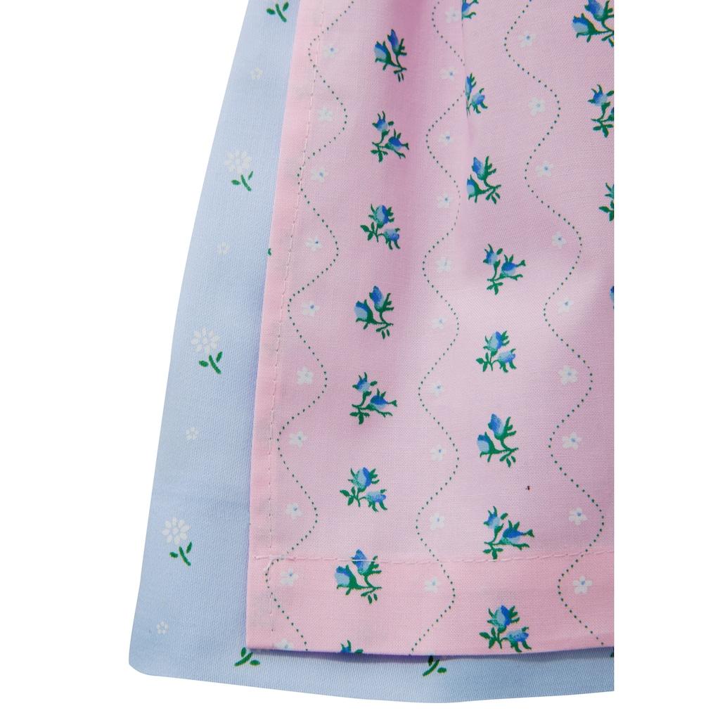 Turi Landhaus Dirndl, (3 tlg.), für Baby mit süßem Blumenprint