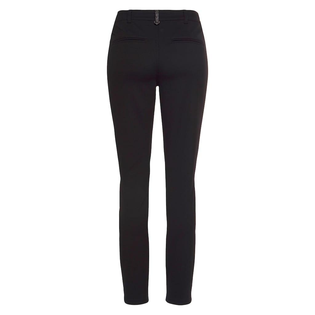 MAC 5-Pocket-Jeans »Melanie Velvet«, Klassischer Jeansschnitt in gewaschener Samt-Qualität