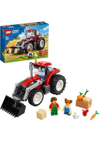 LEGO® Konstruktionsspielsteine »Traktor (60287), LEGO® City«, (148 St.), Made in Europe kaufen