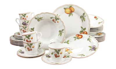 "CreaTable Kombiservice ""Flora Orchard"" (30 - tlg.), Porzellan kaufen"