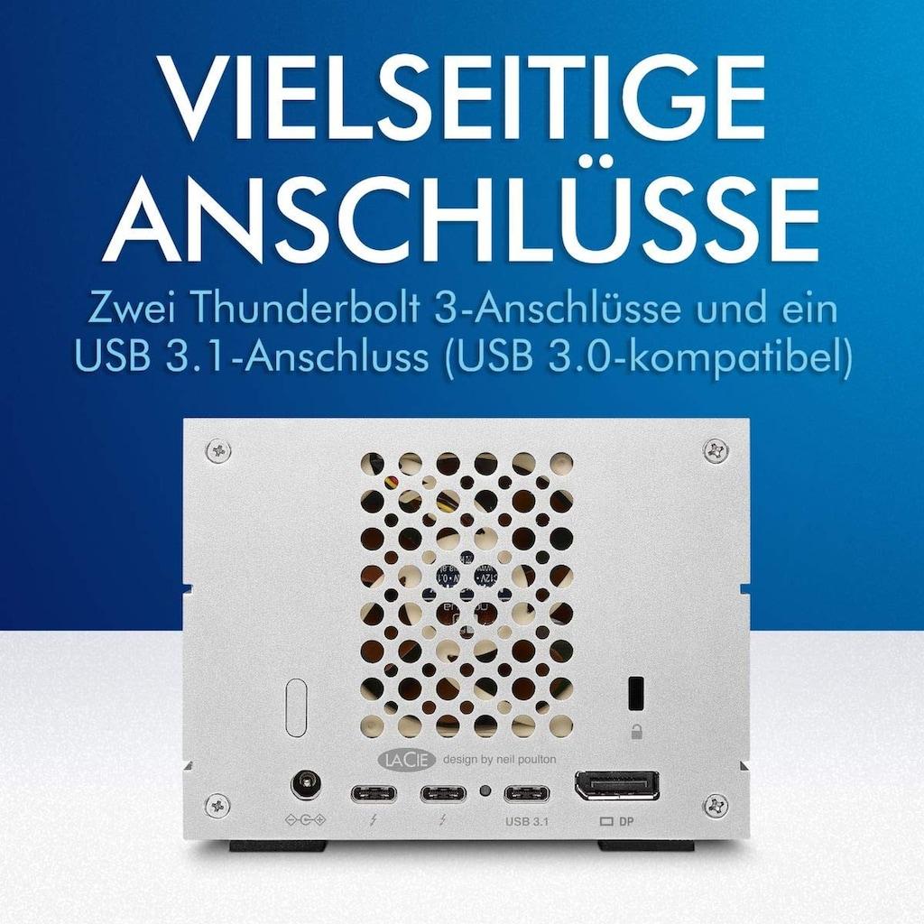 """LaCie NAS-Server »2big Dock 32TB Thunderbolt 3 USB-C«, externe Festplatte, 3,5"""""""