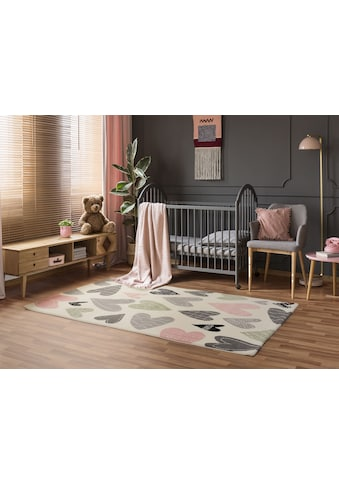OCI DIE TEPPICHMARKE Teppich »Kiddy Love«, rechteckig, 11 mm Höhe, Wohnzimmer kaufen