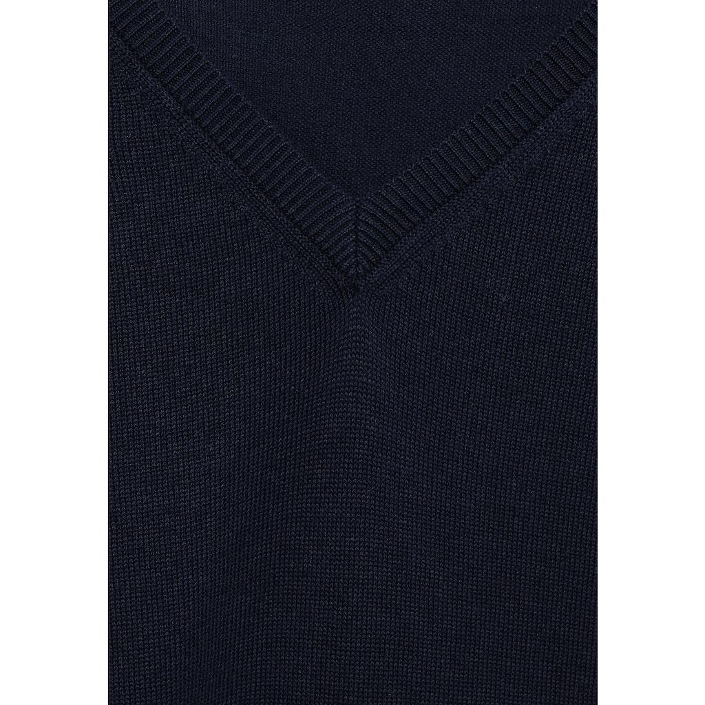 Cecil V-Ausschnitt-Pullover, mit V-Ausschnitt