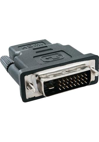 Schwaiger HDMI - /DVI - D Adapter zur digitalen Bild und Ton Übertragung »für PC, TV, Beamer« kaufen