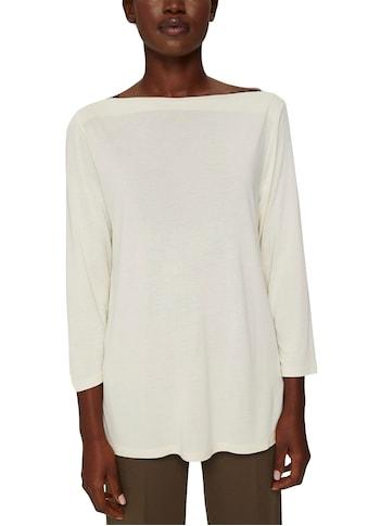 Esprit Collection Langarmshirt, mit elegantem U-Boot-Ausschnitt kaufen