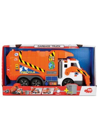Dickie Toys Spielzeug-Müllwagen »Action Series Garbage Truck«, mit Licht und Sound kaufen