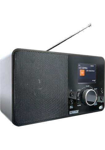 Schwaiger Digital Radio DAB/DAB+ tragbar mit UKW und DAB Empfang »Radiowecker mit Farbdisplay« kaufen