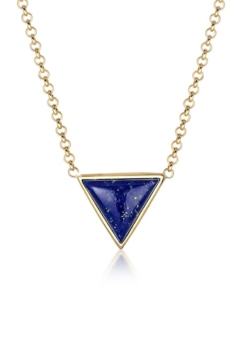 Elli Collierkettchen »Geo Dreieck Lapis Lazuli 925 Silber« kaufen