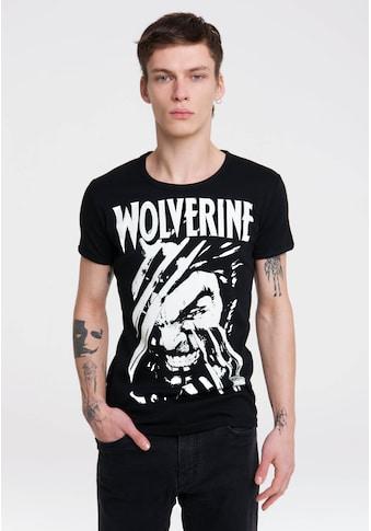 LOGOSHIRT T-Shirt »Wolverine«, mit Marvel-Print kaufen