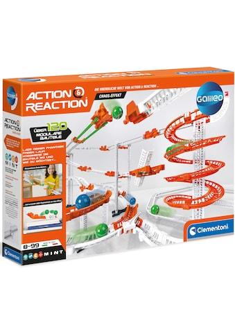 Clementoni® Kugelbahn-Bausatz »Galileo - Action & Reaction - Chaos Effekt«, Made in... kaufen