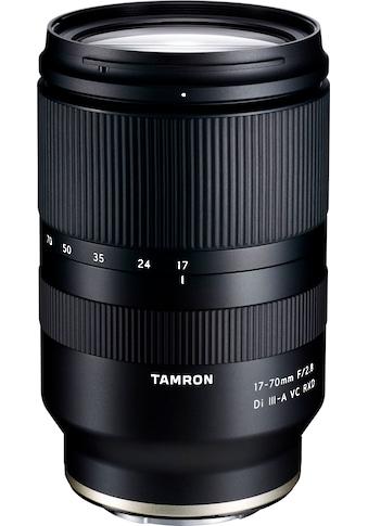 Tamron Zoomobjektiv »AF 17-70mm F/2.8 Di III-A VC RXD (für SONY APS-C CSC)« kaufen