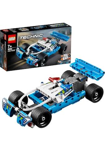 """LEGO® Konstruktionsspielsteine """"Polizei - Verfolgungsjagd (42091), LEGO® Technic"""", Kunststoff, (120 - tlg.) kaufen"""