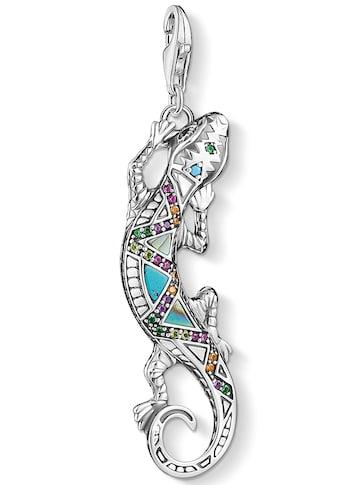 THOMAS SABO Charm-Einhänger »Eidechse, Y0063-991-7«, mit Emaille, Perlmutt, imit.... kaufen