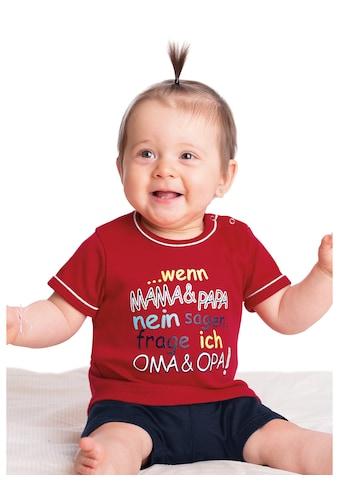 Trigema Shirt Feinripp Oma & Opa kaufen