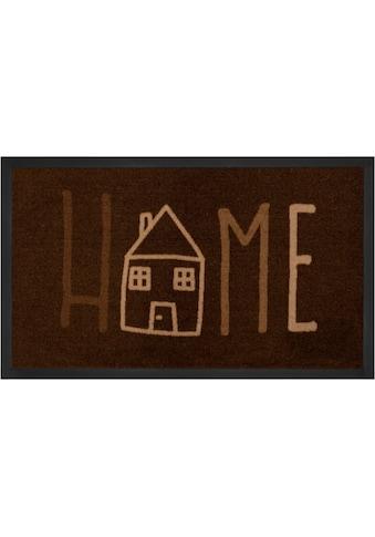 HANSE Home Fußmatte »Easy Home«, rechteckig, 5 mm Höhe, Fussabstreifer, Fussabtreter,... kaufen