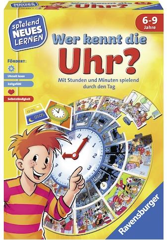 """Ravensburger Spiel, """"Wer kennt die Uhr?"""" kaufen"""
