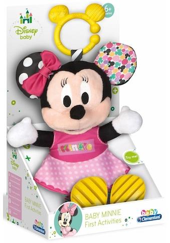 Clementoni® Plüschfigur »Disney Baby, Plüsch Minnie mit Beißring« kaufen