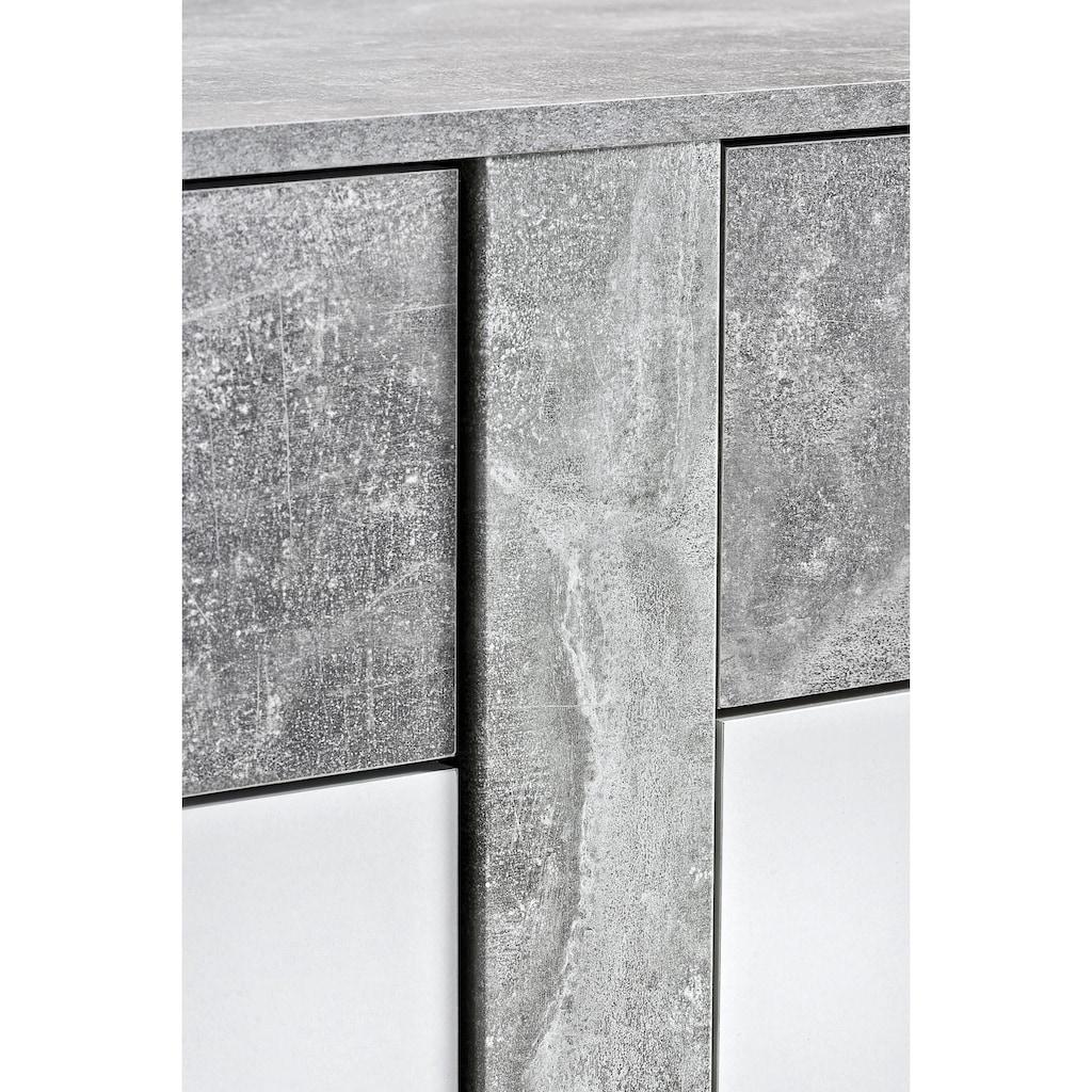 Kommode »Trenti«, Breite 180 cm mit zweifarbiger Front
