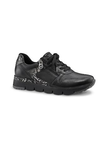 MARCO TOZZI by GMK Sneaker, mit trendigen Besatz in Snake-Optik kaufen