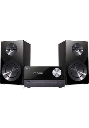 LG Microanlage »CM2460DAB«, (Bluetooth Digitalradio (DAB+) 100 W) kaufen