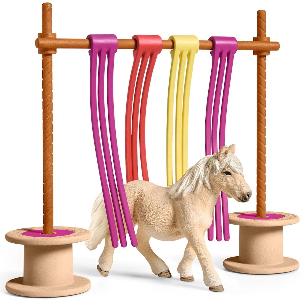 """Schleich® Spielfigur """"Farm World, Pony Flattervorhang (42484)"""""""