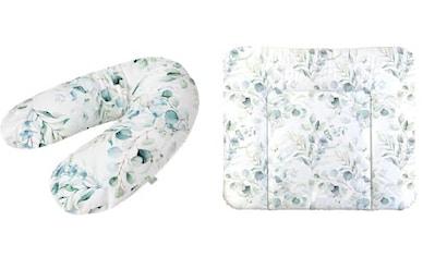 Rotho Babydesign Wickelauflage »Natural Leaves«, inklusive Stillkissen Multi; Made in... kaufen