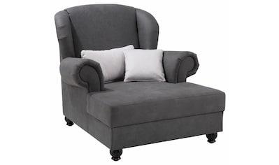 Home affaire XXL-Sessel »King Henry«, mit Federkern, in legerer Polsterung und vielen losen Kissen kaufen